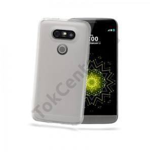 Celly LG G5 Alice szilikon hátlap,Átlátszó