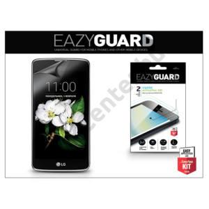 LG K7 X210 képernyővédő fólia - 2 db/csomag (Crystal/Antireflex HD)