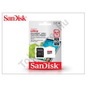 64 GB microSDHC™ UHS-1 Class 10 memóriakártya + SD adapter