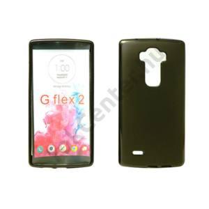 LG C50 Leon vékony szilikon hátlap,Fekete