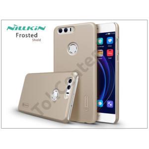 Huawei/Honor 8 hátlap képernyővédő fóliával - Nillkin Frosted Shield - gold