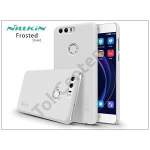 Huawei/Honor 8 hátlap képernyővédő fóliával - Nillkin Frosted Shield - fehér