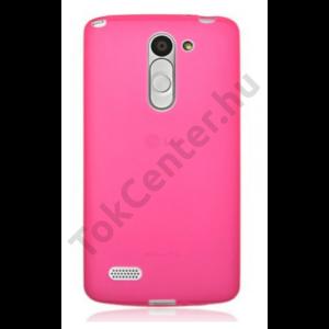 LG M2 vékony szilikon hátlap, pink