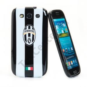 Celly Galaxy S3 műanyag hátlap, fekete-fehér