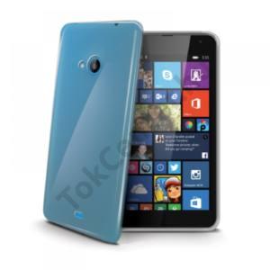 Celly Microsoft Lumia 535 szilikon hátlap,Átlátszó