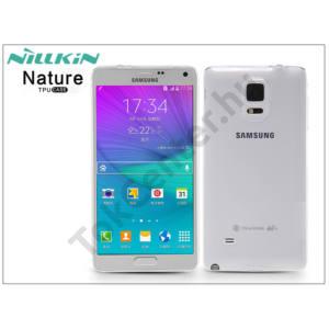 Samsung SM-N910 Galaxy Note 4 szilikon hátlap - Nillkin Nature - transparent