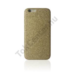 'Glitter Case-Gold' műanyag hátlap,iPhone SE