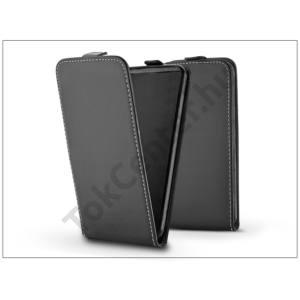 Slim Flexi Flip bőrtok - Lenovo C2 - fekete