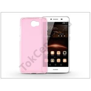 Huawei Y6 II Compact/Y5 II/Honor 5 szilikon hátlap - Flexmat 0,3 mm - pink