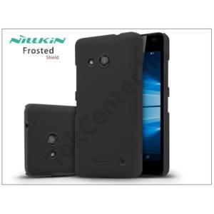 Microsoft Lumia 550 hátlap képernyővédő fóliával - Nillkin Frosted Shield - fekete
