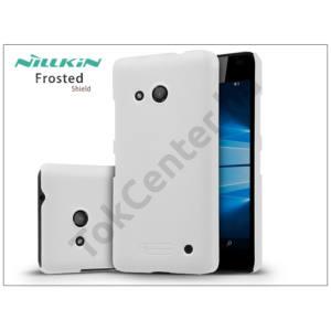Microsoft Lumia 550 hátlap képernyővédő fóliával - Nillkin Frosted Shield - fehér