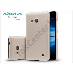Microsoft Lumia 550 hátlap képernyővédő fóliával - Nillkin Frosted Shield - golden