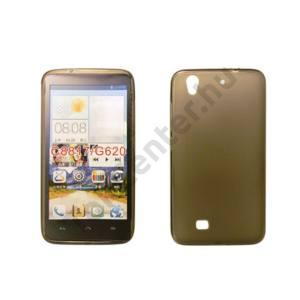Huawei P8 vékony szilikon hátlap,Fekete