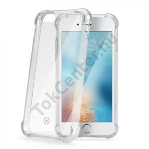Celly iPhone 7 Plus /APPLE iPhone 8 Plus 5.5`` színes keretű hátlap,Átlátszó