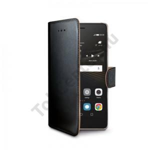 Celly Huawei P9 Lite book tok,Fekete