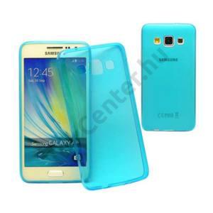 Galaxy A3 ultravékony szilikon hátlap,kék