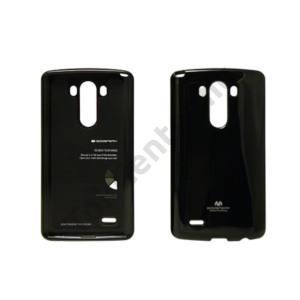 Jelly LG G3 szilikon hátlap,Fekete
