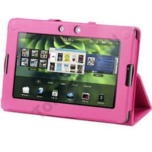 Huawei Media Pad 7 bőr tok, Pink