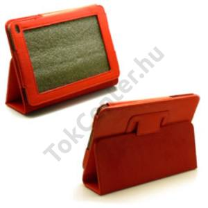 Huawei Media Pad 7 bőr tok,Piros