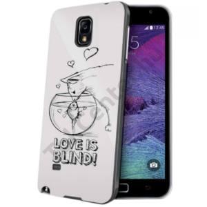 Celly Galaxy S6 műanyag mintás hátlap,cicás