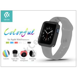Apple Watch védőtok - Devia Colorful 42 mm - black