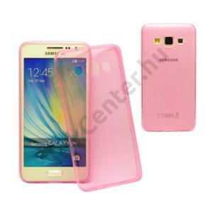 Galaxy A3 ultravékony szilikon hátlap,Pink
