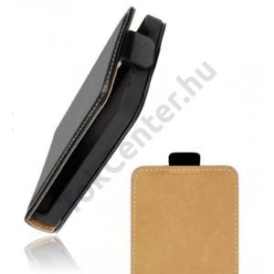 LG C50 Leon Flip bőr tok,Fekete