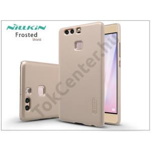 Huawei P9 hátlap képernyővédő fóliával - Nillkin Frosted Shield - gold