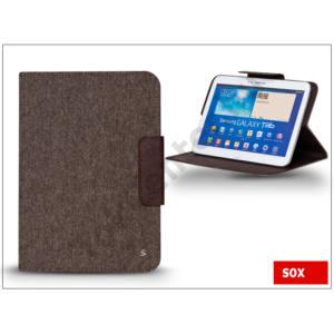 SOX univerzális tok 10&quot\; méretű tablet készülékekhez - SMART DECO TABLET - barna