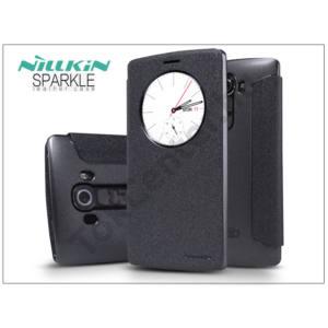 LG G4 H815 oldalra nyíló flipes tok - Nillkin Sparkle - fekete