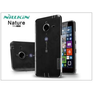 Microsoft Lumia 640 XL szilikon hátlap - Nillkin Nature - transparent