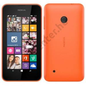 gyári Nokia Lumia 530 műanyag hátlap,Narancs