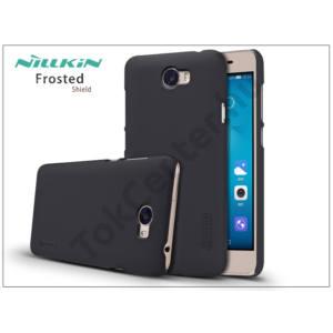 Huawei Y6 II Compact/Y5 II/Honor 5 hátlap képernyővédő fóliával - Nillkin Frosted Shield - fekete