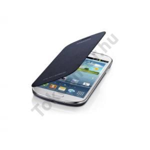 Samsung Galaxy Express flip cover tok,S.kék,sérült csom.
