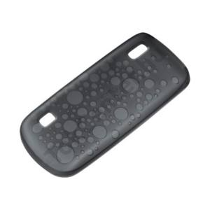 gyári Nokia 300 szilikon hátlap,Fekete