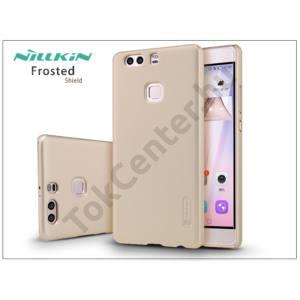 Huawei P9 Plus hátlap képernyővédő fóliával - Nillkin Frosted Shield - gold