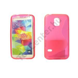 Galaxy S5 mini TPUS szilikon hátlap,Pink