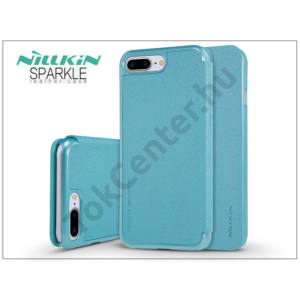 Apple iPhone 7 Plus /APPLE iPhone 8 Plus 5.5`` oldalra nyíló flipes tok - Nillkin Sparkle - kék