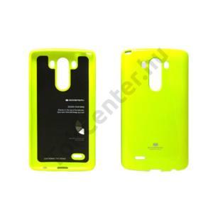 Jelly LG G3 szilikon hátlap,Zöld