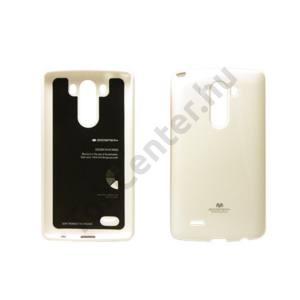 Jelly LG G3 szilikon hátlap,Fehér