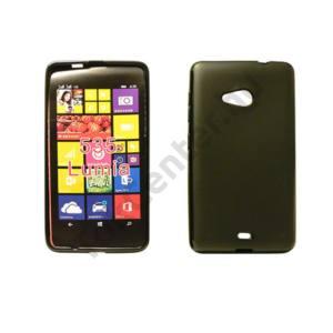 Microsoft Lumia 435/532 szilikon hátlap,Fekete