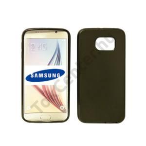 Samsung Galaxy S7 vékony szilikon hátlap, Fekete