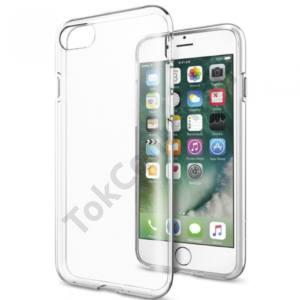 APPLE IPhone 8 4,7``/ iPhone 7 vékony TPU szilikon hátlap,Átlátszó