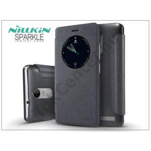 Lenovo K5 Note oldalra nyíló flipes tok - Nillkin Sparkle - fekete