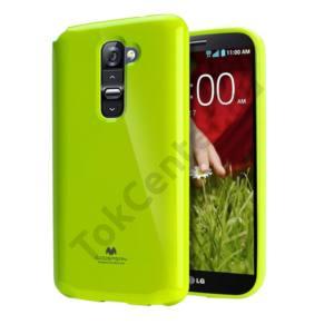 Jelly LG Optimus G2 szilikon hátlap,Zöld