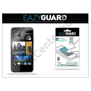HTC Desire 300 képernyővédő fólia - 2 db/csomag (Crystal/Antireflex)