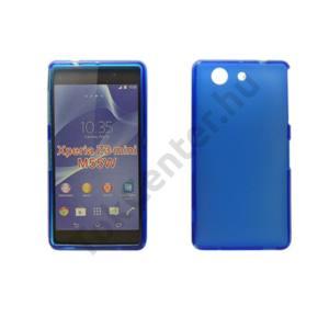 Sony Xperia Z3 Compact vékony szilikon hátlap,Kék