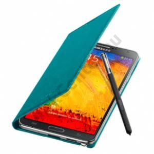 Samsung Galaxy Note 3 Flip bőr tok,Azúr Kék