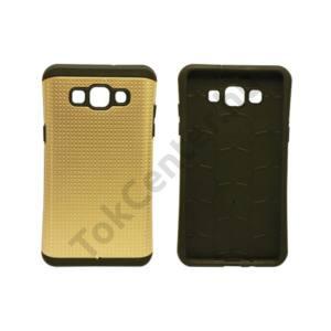 Galaxy A3 ütésálló védőhátlap,Arany
