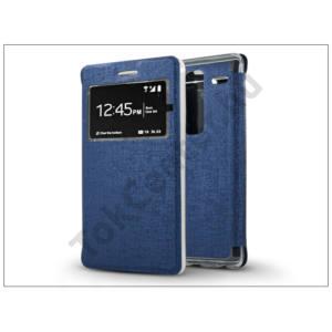 LG Zero H650 S-View Flexi oldalra nyíló flipes tok - kék